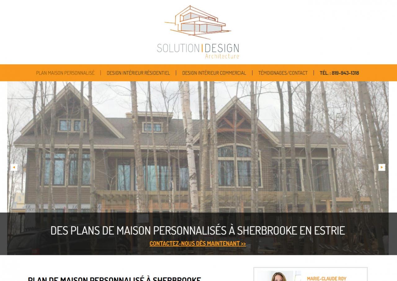 Solution design plan de maison personnalisé à sherbrooke