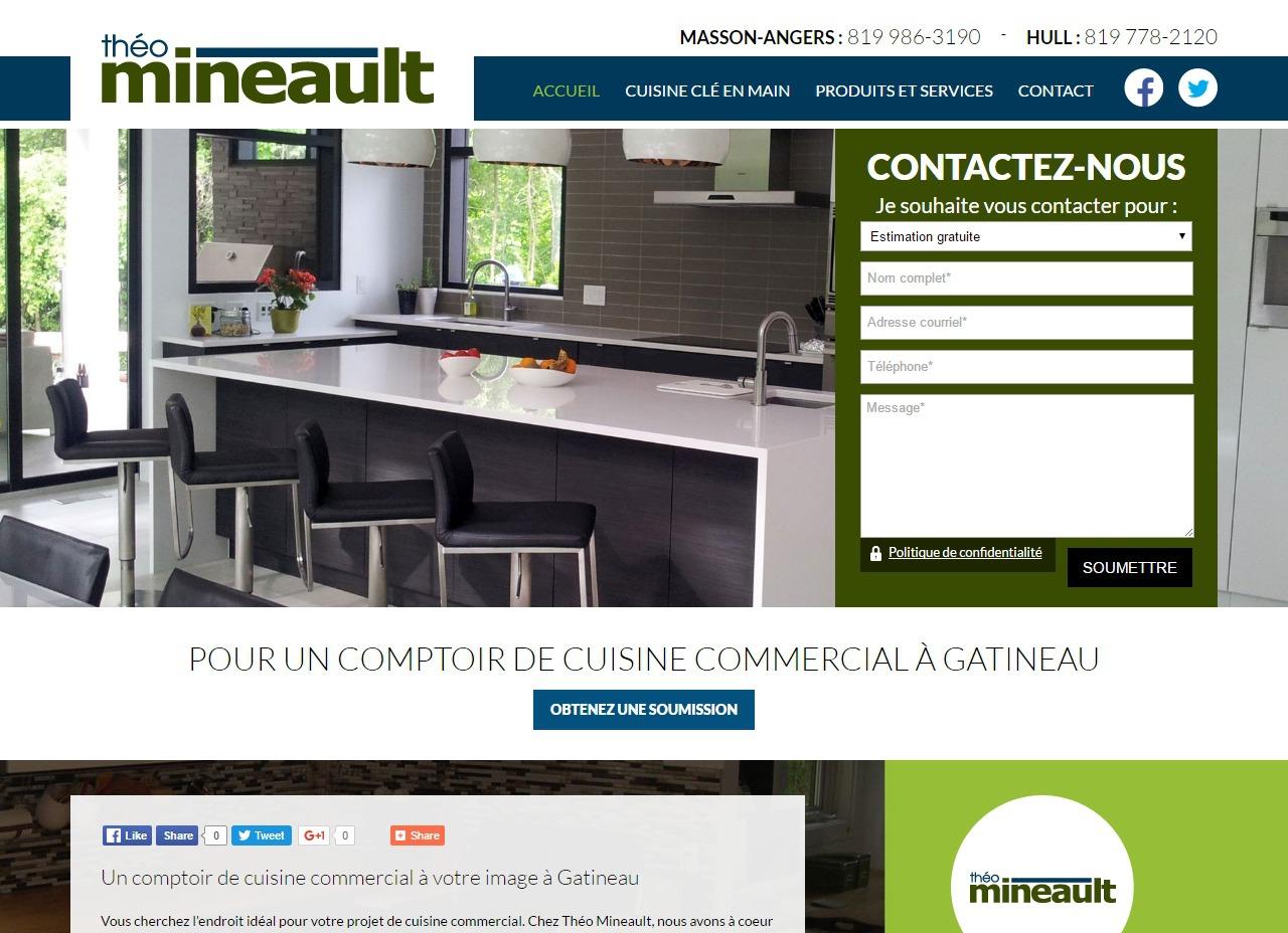 Th o mineault un service personnalis dans le choix de comptoir de cuisine commercial - Comptoir irlandais angers ...